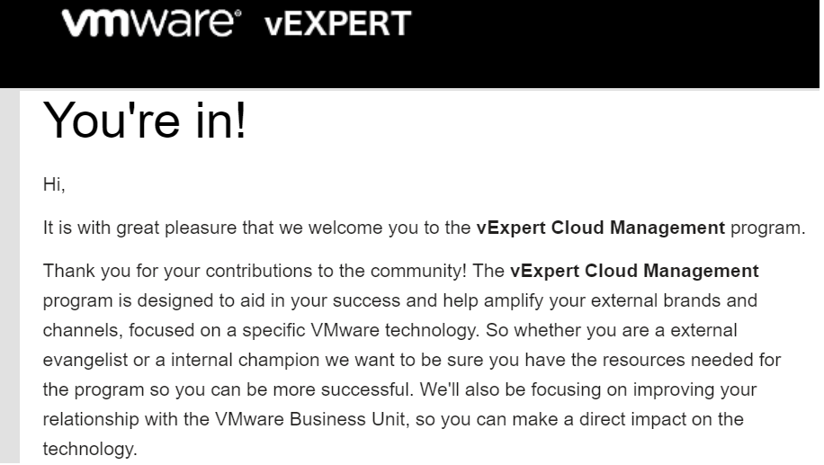 Expert Cloud Management Program