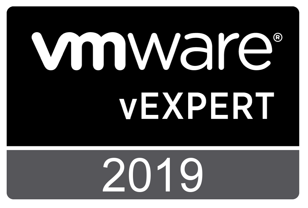 vExpert 2019 Award Announcement
